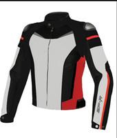 casacos mountain bike venda por atacado-Dain moto gp titanium super speed jaqueta de malha respirável motocross equitação mountain bike jaquetas esportivas com proteção
