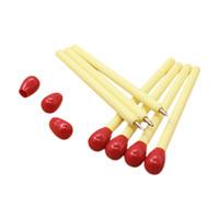студийная ручка оптовых-10 PCS/lot Korean Matchstick Ball Pens Office Supplies Match BallPoint Pen Student School Supplies Writing Stationery