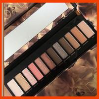 paletas de maquillaje natural al por mayor-2019 Maquillaje de ojos 12 colores Reloaded Eyeshadow Palette Polvo prensado Mate Natural Eye Makeup Sombras de ojos envío gratis