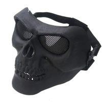 kafatası reçine maskeleri toptan satış-Yüz Maskesi Hayalet Reçine Kafatası sarar İskelet Çoklu Intball CS Yüz Kayak Bisiklet Motosiklet Doğa Sporları Kamp Bisiklet Bandana Maske