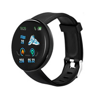 D18 Smart Watch Men Women Blood Pressure Round Smartwatch Waterproof Sport Smart Watch Fitness Tracker For Android Ios