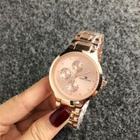 ingrosso orologi di strass di lusso-2019 di lusso famoso michael donne strass orologi moda Luxury Dress TM signore orologio kor quadrante uomo borsa dz guessity watches068