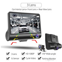Wholesale auto registrator for sale - Group buy Original Car DVR Camera Video Recorder Rear View Auto Registrator ith Two Cameras Dash Cam DVRS Dual Lens