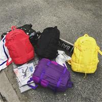 Wholesale outdoor shoulder backpacks resale online - Hot Fashion Luxury Designer Bag Superme Travel Student Bags Men Women Leisure Shoulder Bag Backpack Large Capacity Outdoor Sport Packs