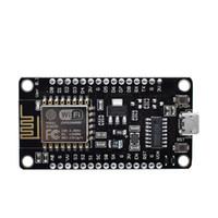 módulo wifi usb al por mayor-módulo inalámbrico NodeMcu v3 CH340 Lua WIFI Internet de los objetos del tablero del desarrollo ESP8266 con PCB de la antena y el puerto USB para Arduino