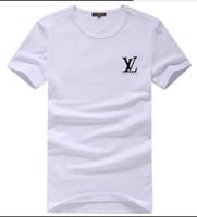 erkekler için t gömlek yaka stilleri toptan satış-Ücretsiz Teslimat Yüksek Kalite Pamuk Yeni O-yaka Kısa Kollu T-shirt Marka erkek T-shirt Spor Eğlence Tarzı erkek T-shirt 2019 yılında