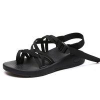 cuerda del dedo del pie al por mayor-Verano nueva playa dedo del pie nudo de la cuerda chancletas planas zapatillas cómodas y sandalias planas de las mujeres señoras sandalias de correa cruzada