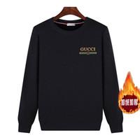 hoodies equipados coreano venda por atacado-Nova marca de moda camisola Mens pulôver listrado Slim Fit Jumpers Knitred lã Outono coreanos Estilo Casual Vestuário Outono Mens Hoodies