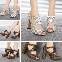 ingrosso fabbrica di tacchi alti-tacchi alti delle donne stazione europea nuove scarpe di cuoio di alta qualità 35-40 scarpe casual vendite dirette della fabbrica spedizione gratuita