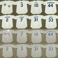 men youth women 33 ERIC DAVIS 44 DARRYL STRAWBERRY 2 TOMMY LASORDA 7 STEVE  YEAGER 10 RON CEY Jersey Dodgers S-5XL 91d79f58d