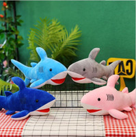 Wholesale stuffed animal sharks for sale - Group buy Shark plush toys Stuffed Animals Simulation Big Sharks Doll Pillows Cushion Kids Toys for Children Birthday Gifts Doll