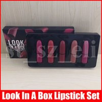 Wholesale lip stick mini for sale - Group buy Frost Sexy lipstick M lip Makeup look in a box be sfnsational mini size Lipsticks Frost Matte Lip stick g