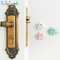Wholesale baby stopper lock for sale - Group buy 3Pcs Fashion Cloud Design Baby Safety Security Card Door Stopper Baby Newborn Care Child Lock Child Protection Door Stop