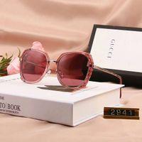 neue angekommene sonnenbrille großhandel-Marke Sonnenbrillen Designer-Sonnenbrillen Stilvolle Sunglasse für Frauen Brille UV400 mit sechs Stil Optional Neu Ankommen