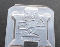 zócalos de cpu al por mayor-Envío gratis 100 unids caja de la CPU titular de la caja de protección de plástico Shell contenedor para Socket intel 775 i3 i5 i7