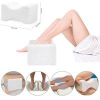 dolor de almohada al por mayor-Memory Foam ortopédico pierna almohada de apoyo caderas rodilla acolchado alivio del dolor Almohada
