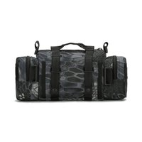 Wholesale fishing tackle bag multifunctional for sale - Group buy Portable Outdoor Fishing Tackle Bag Multifunctional Lure Waist Fanny Pack Water Resistant Soft Sided Shoulder Carry Strap Storage Camera Bag