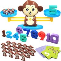 Wholesale cool toys girls for sale - Group buy Monkey Balance Cool Math Game for Girls Boys Fun Educational Children Gift Kids Toy STEM Learning Ages and up