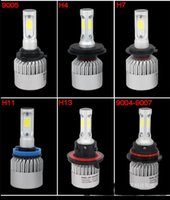 Wholesale 2pcs Car led headlights high quality W LM K