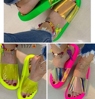 Wholesale personalize flip flops for sale - Group buy 2019 Summer Women Slippers Beach Shoes The Trend of Personalized Flip flop Sandals Fashion Flip Flops Non slip Shoes