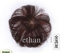 Wholesale chinese bride hair for sale - New hair bag high grade silk hairpin bride hair fluffy short curly hair