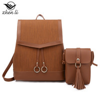 Wholesale institute fashion bag resale online - zhenli female bag new arrival women s fashion shoulder bag backpack overseas on behalf of the Amazon Institute