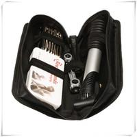 taşınabilir bisiklet tamir setleri toptan satış-Taşınabilir Bisiklet Onarım Aracı Takımı Çok Fonksiyonlu Bisiklet Fix Araçları Katlanabilir 16-in-1 Anahtarı Lastik Tamir Toolswith Mini Manuel Pompa Set