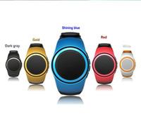 relojes bluetooth altavoz al por mayor-B20 Altavoz Bluetooth Reloj Surper Bass Al aire libre Altavoces Muñeca Bracelete Soporte Tarjeta TF Micrófono incorporado Deporte al aire libre Manos libres
