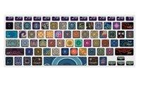 macbook pro a1398 toptan satış-(A1369 / A1466) Silikon Baskı Klavye Kapak Koruyucu Pro 13 15 (A1278 / A1286), 13 15 Retina (A1502 / A1425 / A1398)