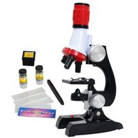 Wholesale microscope kids for sale - Group buy Science Kits for Kids Beginner Microscope with LED X X and X Science Educational Toy Gift