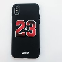 Wholesale jerseys for resale online - 2018 Jersey Designer Phone Case for IPhone X S plus plus plus High Street Style Hip Hop Brand Case Cover Phone Case with Rope