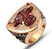 Wholesale bowl souvenir for sale - Group buy 2020 Super Bowl new high end fans collection souvenir Bulls championship ring