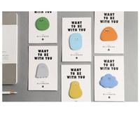 kawaii telefon çıkartmaları toptan satış-36 adet Sevimli bezelye şeker yapışkan notlar Yapıştırıcı sonrası işaretleyici not notu Kırtasiye Ofis Okul malzemeleri Malzeme escolar