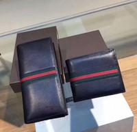 cumpleaños mujer cuero al por mayor-GUC bolsos de lujo bolsos de cuero genuino monederos de diseño 9206 para hombre mujer cumpleaños de san valentín regalo de año nuevo