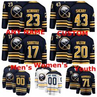 Wholesale conor sheary jersey for sale - Group buy Buffalo Sabres Jerseys Sam Reinhart Jersey Evan Rodrigues Conor Sheary Vladimir Sobotka Scott Wilson Ice Hockey Jerseys Custom Stitched