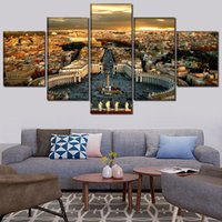 Wholesale italy home decor resale online - 5 set Italy Room Vatican Painting Modern Religious Wall Art Picture Home Decor Print Poster Painting Artwork No Frame