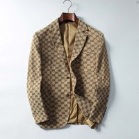 blazers ajustados para homens venda por atacado-Suits New Mens Mens Floral Blazer Designs Mens Paisley Blazer Slim Fit Suit Jacket Men Wedding Tuxedos