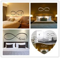 cotización calcomanía etiqueta al por mayor-Lo nuevo Hot Love Extraíble Vinilo Decal Art Mural Home Decor Cita Etiqueta de La Pared Regalo de la Familia