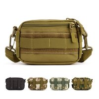 Wholesale small utility bags for sale - Group buy MOLLE Enhanced Running Muddy Kit Tool Utility Male Small Messenger Bag Heavy Duty Advance Defense Ultralight Range Tactical Gear