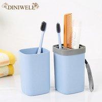 boîte à dentifrice achat en gros de-Voyage en plastique brosse à dents dentifrice titulaire boîte shampooing douche gel contenant tasse pour Voyage