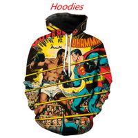 mann maske anime großhandel-coole anime maus legende von zelda hoodies männer 3d druck harajuku lustige streetwear hip hop ski maske krank chris mäntel