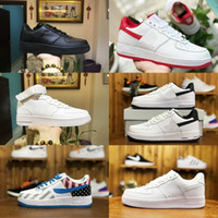size 40 878ee 23611 2019 nike air force 1 one airforce shoes Nike air forces zapatos deportivos  Grape Volt Hyper Violet Blue Hombres mujeres Zapatillas de running Triple  blanco ...