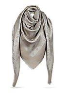 lenço cinza venda por atacado-Fábrica de vender Top Quality celebridade design clássico de lã cashmere scarf wrap xale Carta impressão lenços 140 * 140 centímetros cinza Fios de ouro