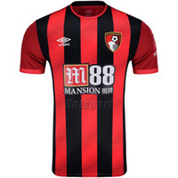 könig fußball großhandel-2019/20 Bournemouth Fußballtrikots Wilson King Fraser Brooks Fußballtrikots Fußballtrikots Trikot