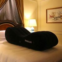 ingrosso cuscini per adulti-Sedia gonfiabile del cuscino del sofà del sesso con la pompa elettrica Giochi sessuali della mobilia dell'adulto del sesso libero per le coppie sposate PF3207