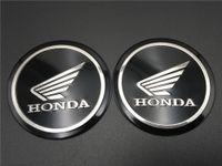 ingrosso badge honda-55mm benzina serbatoio carburante emblema decalcomania tuning ala logo per Honda carabina distintivo bici da corsa adesivi moto