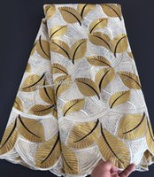 Wholesale super african cotton fabric for sale - Group buy original Swiss voile lace cotton African lace fabric super soft yards pc