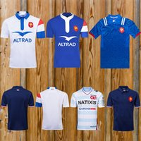 de168d311ef4e3 New style 2018 2019 France Super Rugby Jerseys 18 19 France Shirts Rugby  Maillot de Foot French BOLN Rugby shirt size S-3XL
