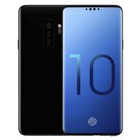 quad core 4g celulares al por mayor-Goophone S10 Plus 6.5 pulgadas MTK6580 desbloqueado teléfono celular Quad Core Android 1G Ram 16G Rom teléfono falso 4G