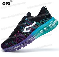 Wholesale outdoor shoes woman free shipping resale online - Cpx Brand Mens And Women Running Shoes Knit Men Women Sneakers Breathable Mesh Outdoor Athletic Running Shoes